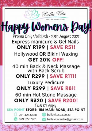 August Woman's Month - Flash Promotions